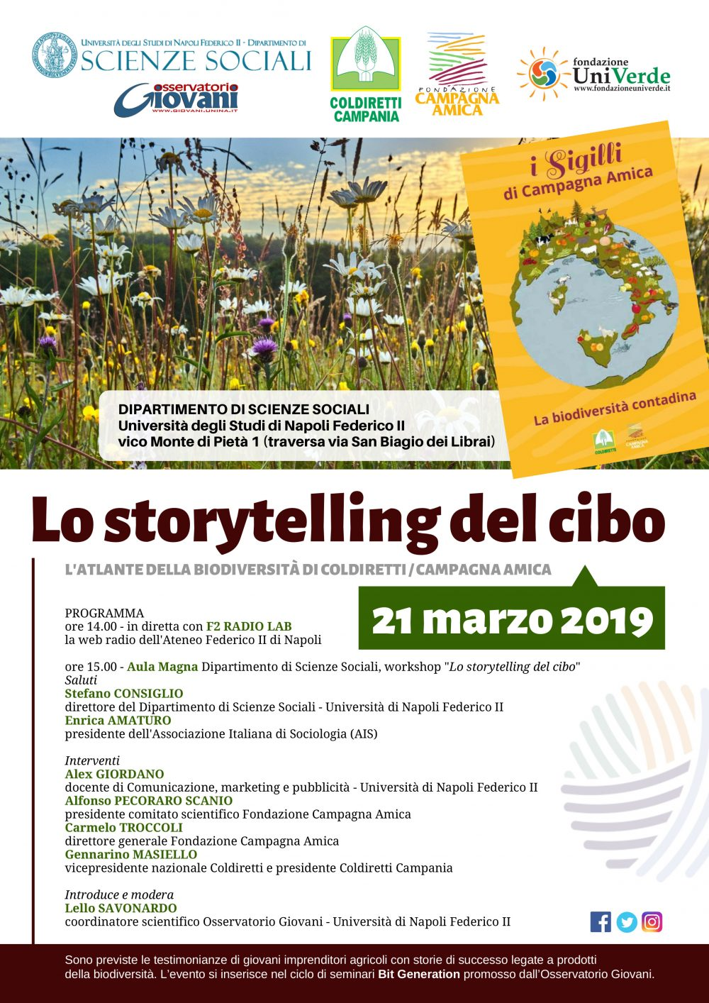 Giornata 21 marzo 2019 Workshop Universita' - parte 2