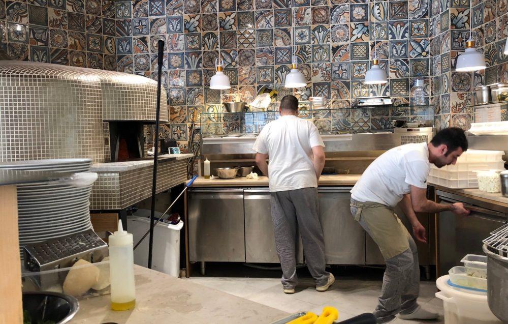 I Pizzaioli della sede di Torino