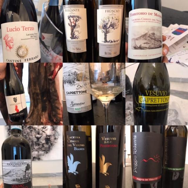 Il Consorzio Tutela Vini Vesuvio incontra il Museo Archeologico di Napoli - vini degustati