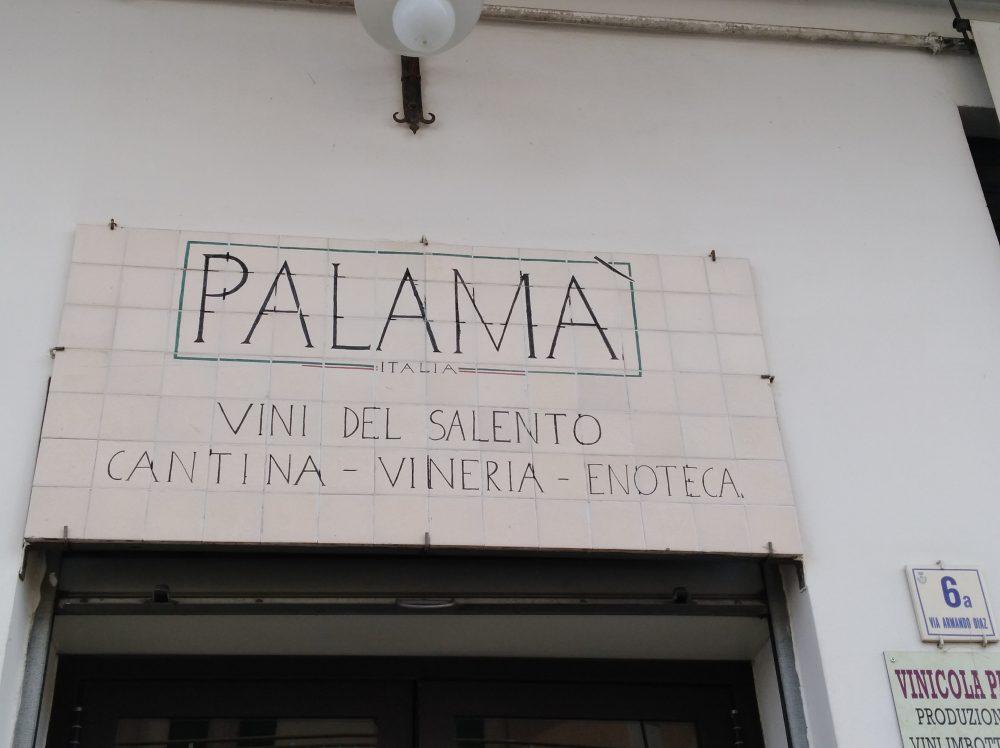 Ingresso Cantina Palama'