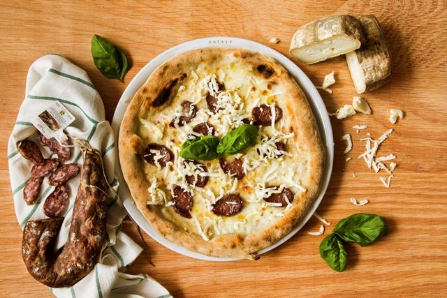 La nuova pizza Eataly di Roma