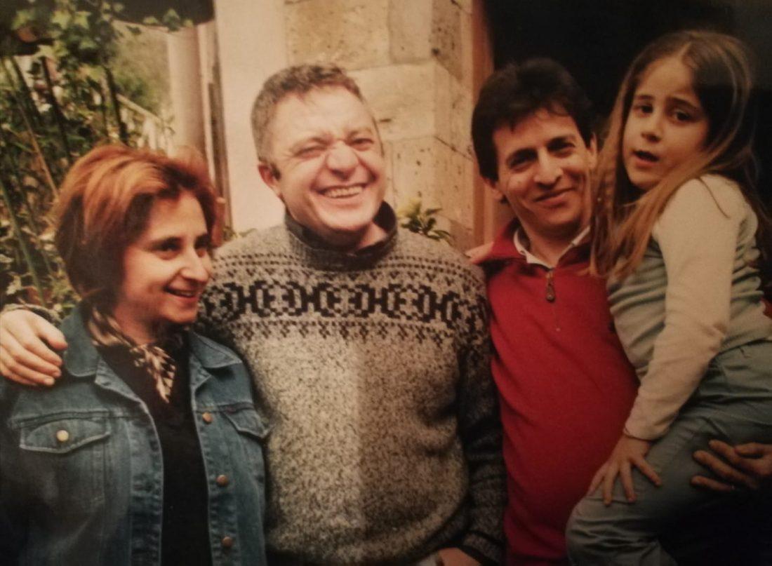 Lella Granito con eppe Guida Eduardo Buonocre e la piccola Rossella