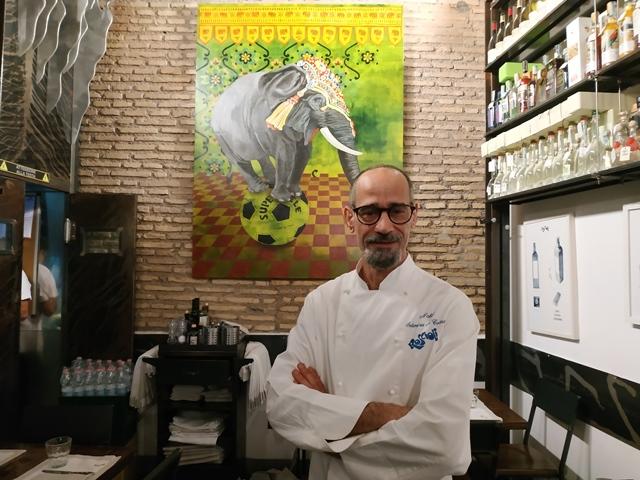 Nabil, chef executive della Salumeria