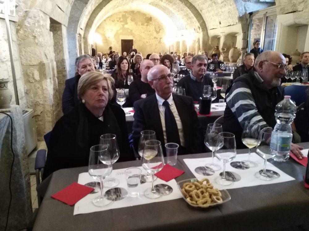 Presentazione nuovi vini di Palama' Pubblico presente in sala