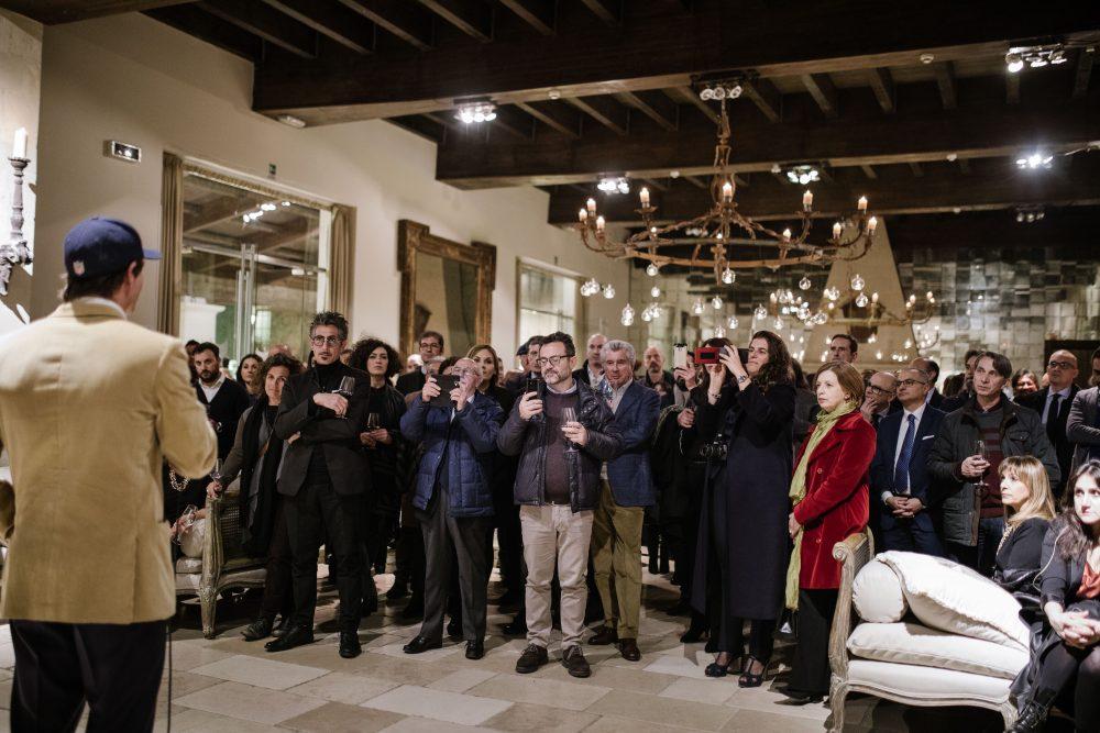 Presentazione vini di Conti Zecca a Lecce. Pubblico