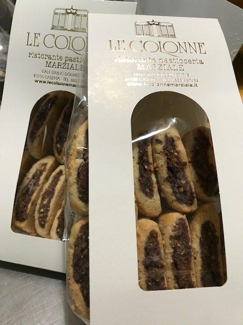 Ristorante Le Colonne - Biscotti Dorzapanza in versione mignon