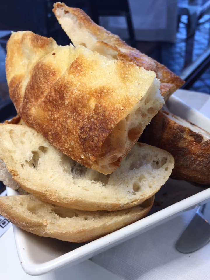 Roscioli ristorante, il cestino del pane
