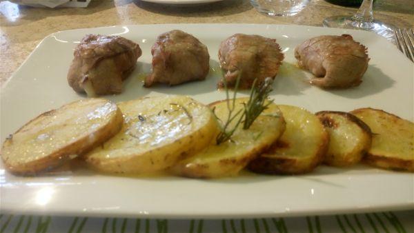 Zullo Tosca mercato centrale Firenze - ravioli di carne