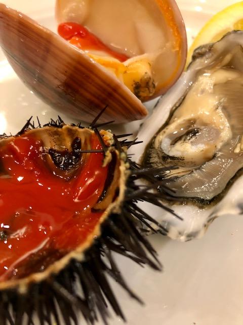 Rinaldi al Quirinale - Degustazione di ricci, fasolari e ostriche