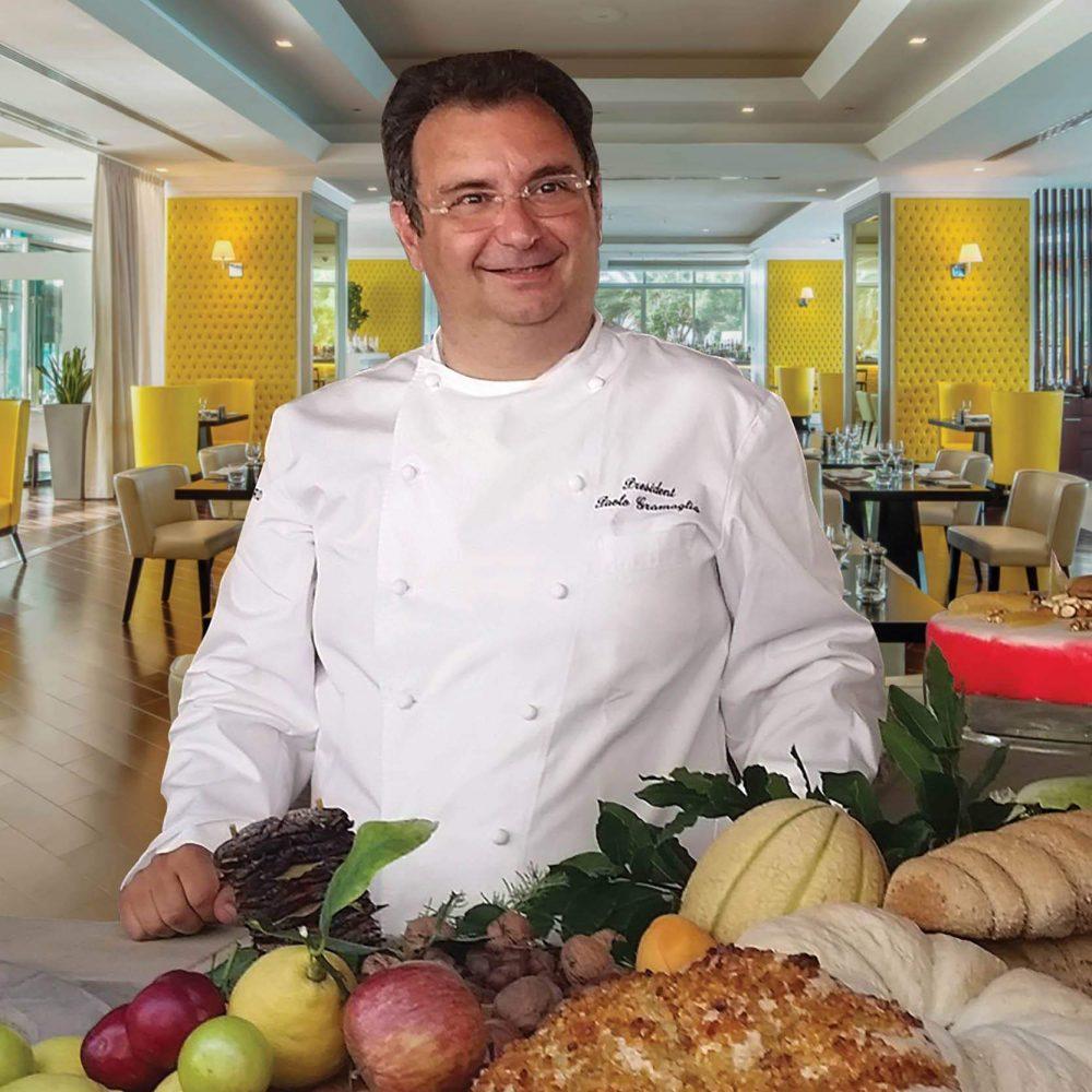 Paolo Gramaglia ristorante Bice Dubai promotion vegana