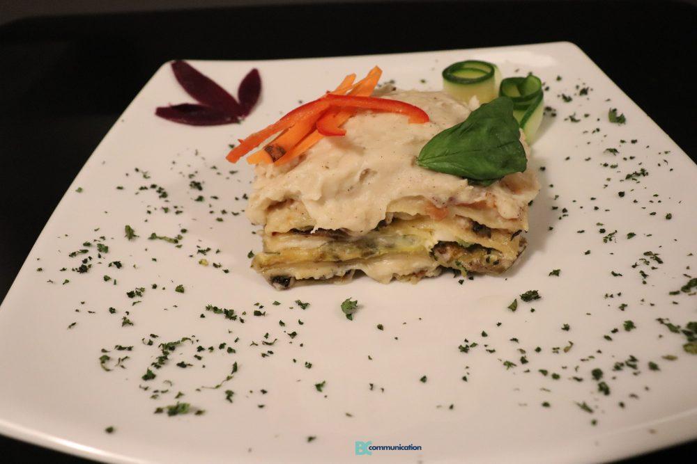 lasagna vegana Sustable - lasagna bianca