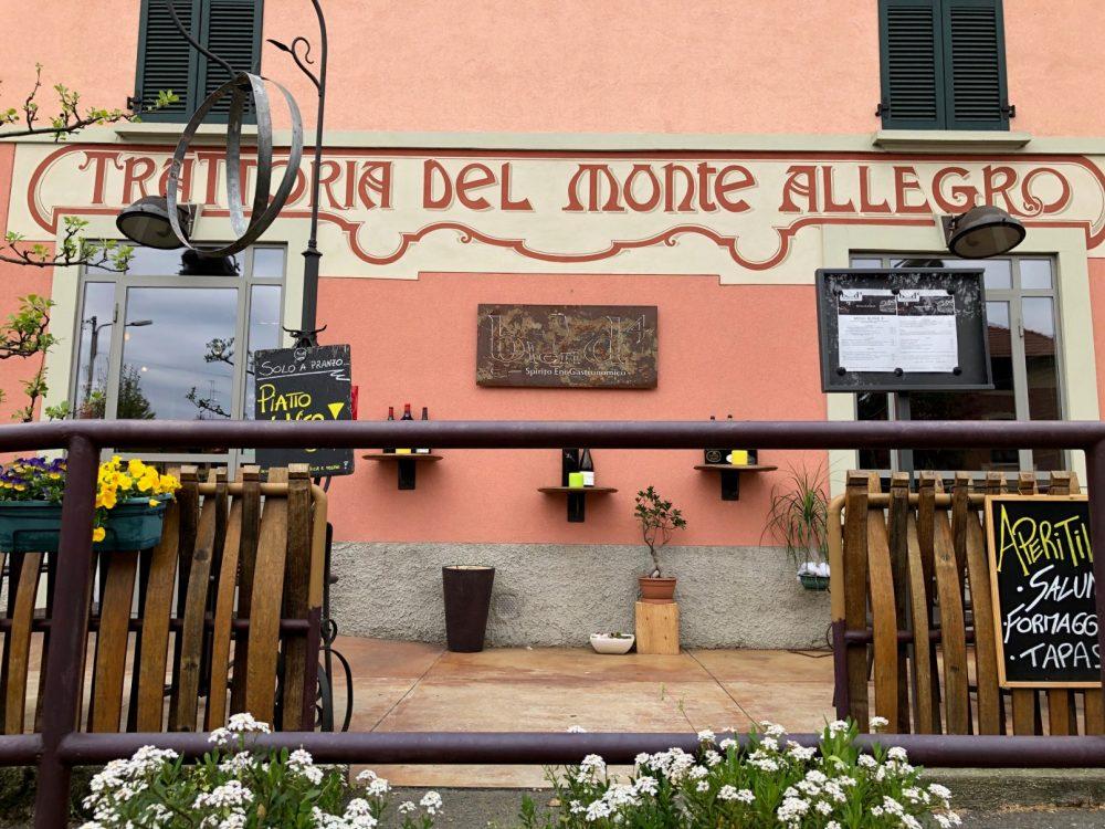 Ingresso Blend4, ex Trattoria del Monte Allegro