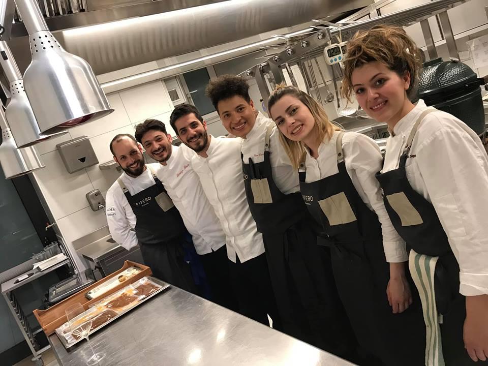 Il Team di Cucina di Pipero Roma