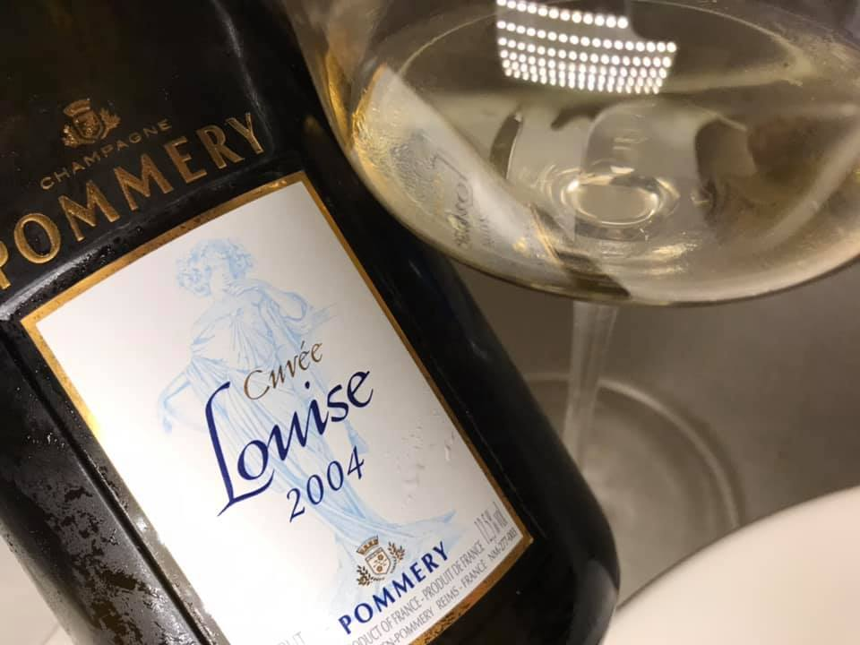 Champagne Pommery Cuvee Louise 2004