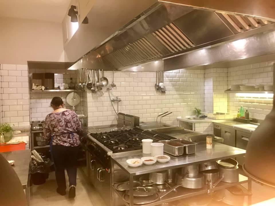 Vecchio Saracino, la cucina