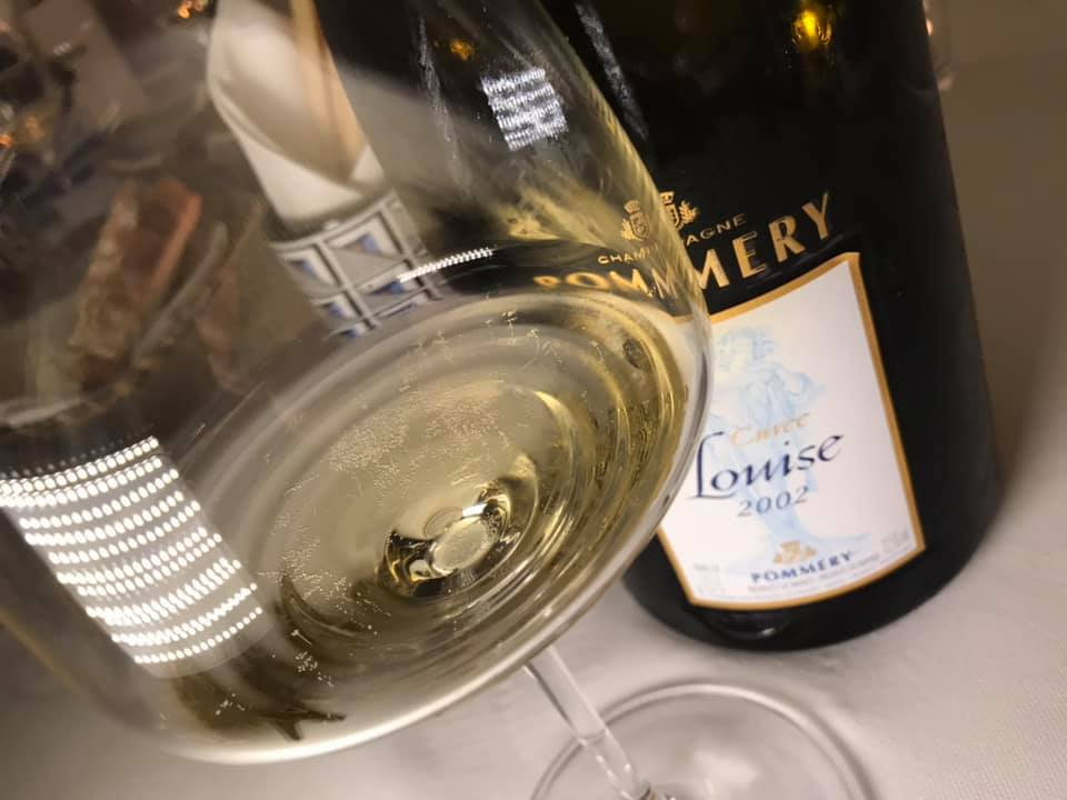 Champagne Pommery Cuvee Louise 2002