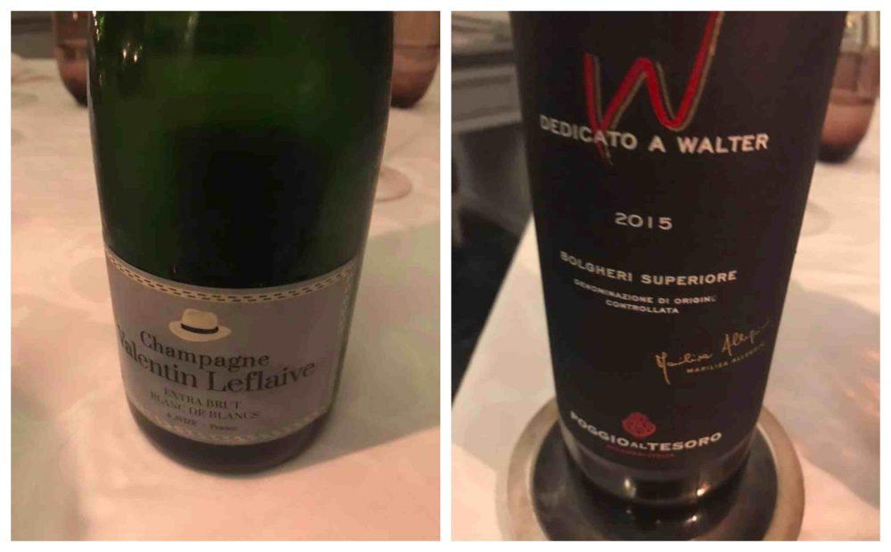 Il Palagio - champagne e vino