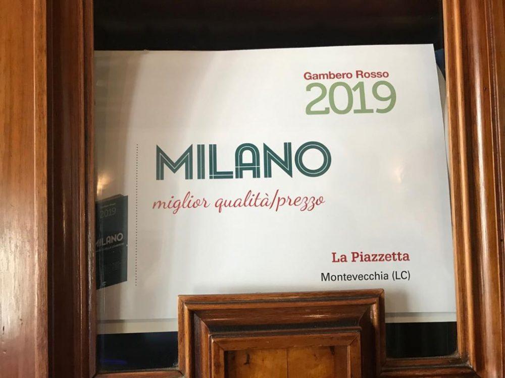 La Piazzetta, l'ennesimo riconoscimento