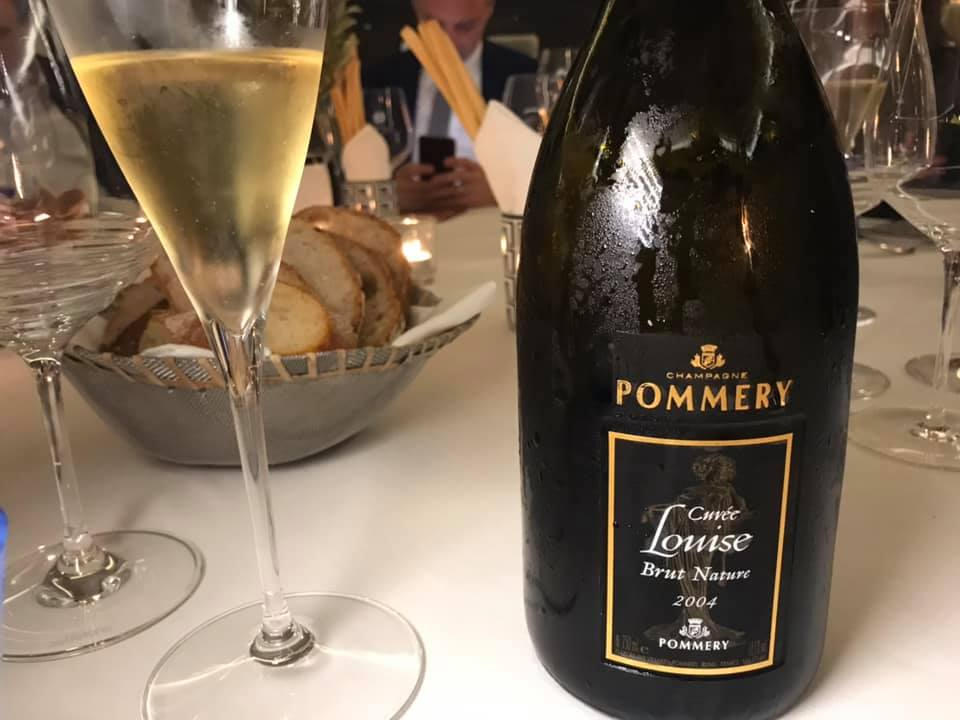 Champagne Pommery Cuvee Louise Brut Nature 2004