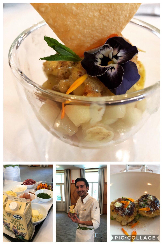 Chef Manuel Astuto del ristorante Parkhotel Laurin