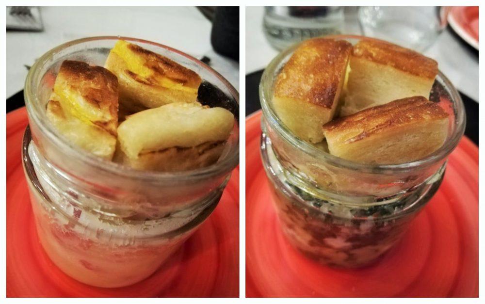 Dattolo Burger House - Gateau di patate e mallone nel barattolo