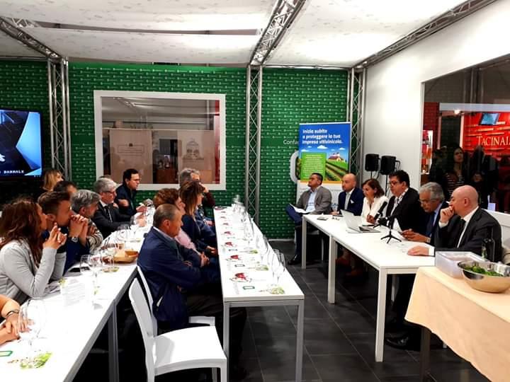 Degustrazione al Vinitaly - 7 aprile 2019- Confagricoltura Napoli