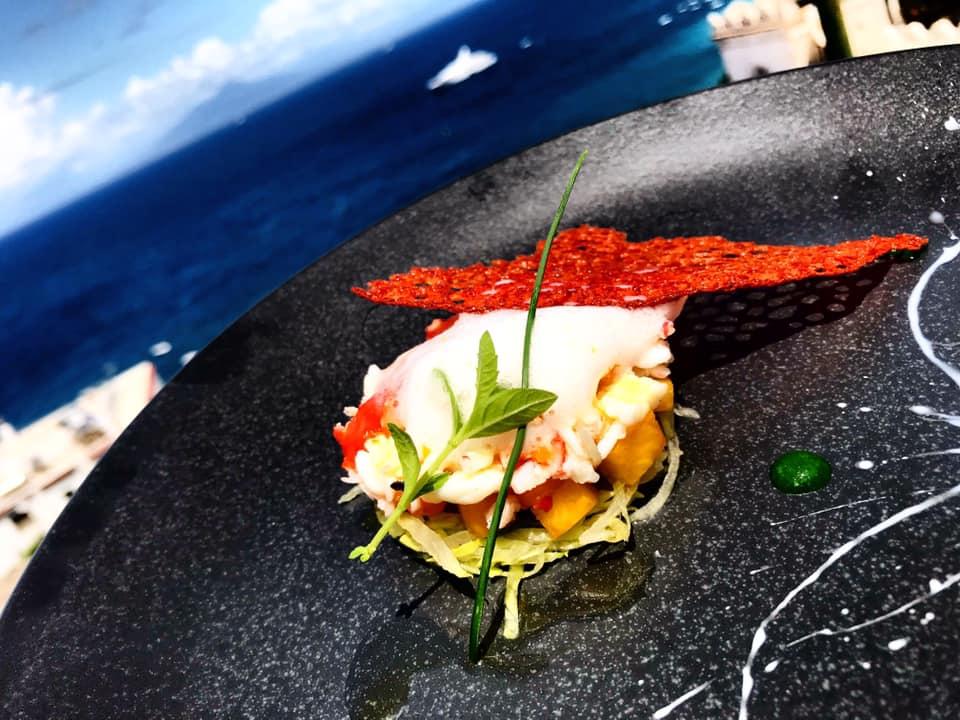 Ziqu - King Crab Salad, Pesca ed Iceberg