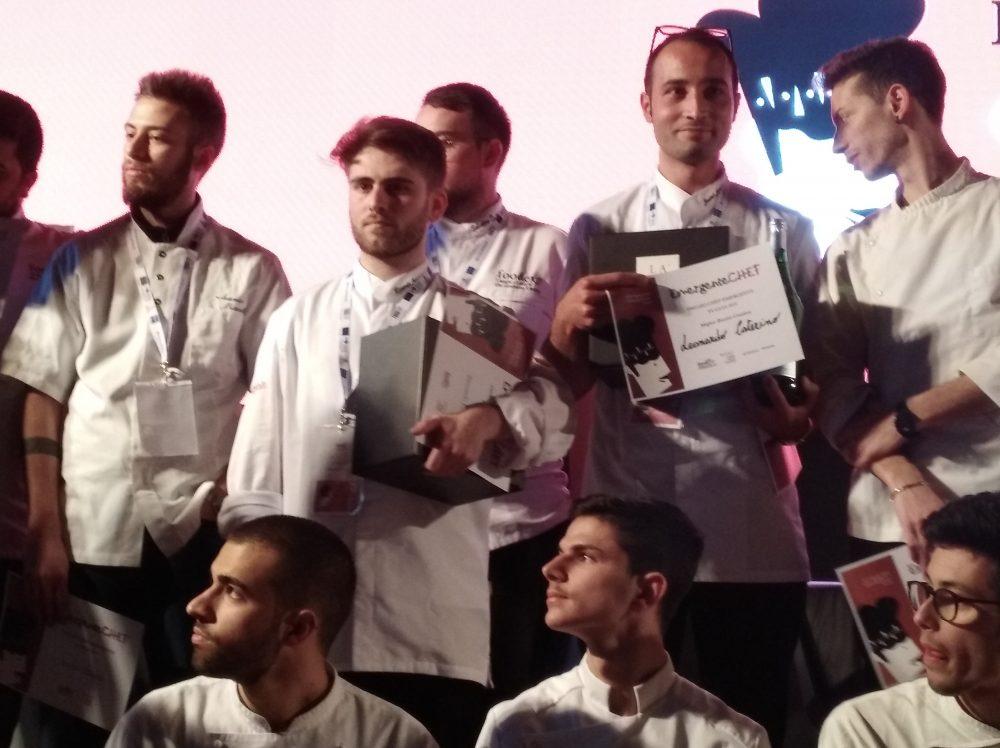 FoodExp 2019 Al centro Riccardo Losappio e Leonardo Caterino