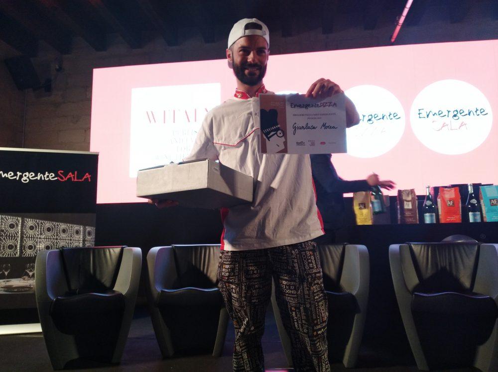 FoodExp 2019 Premiazione del pizzaiolo Gianluca Morea