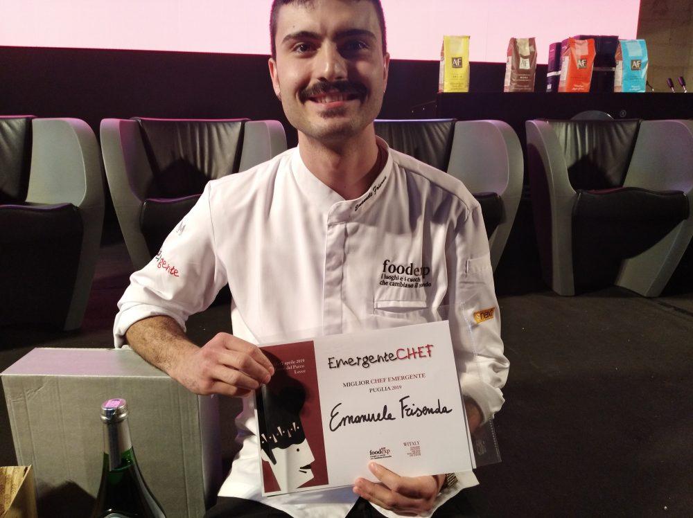 FoodExp 2019 Premiazione dello Chef Emanuele Frisenda