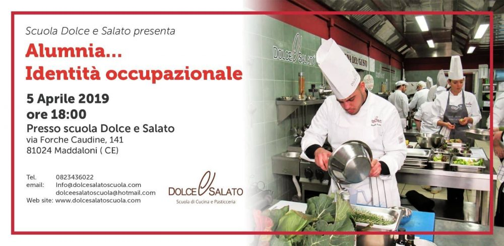 Maddaloni, 5 Aprile. La Dolce & Salato presenta Alumnia