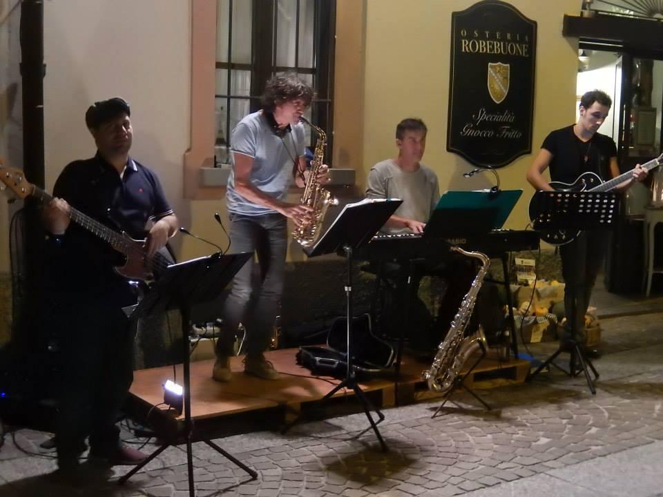 La musica dal vivo nel borgo medievale
