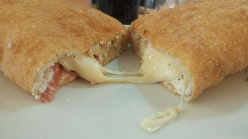 Lab pizzeria Scandicci Enzino - pizza fritta
