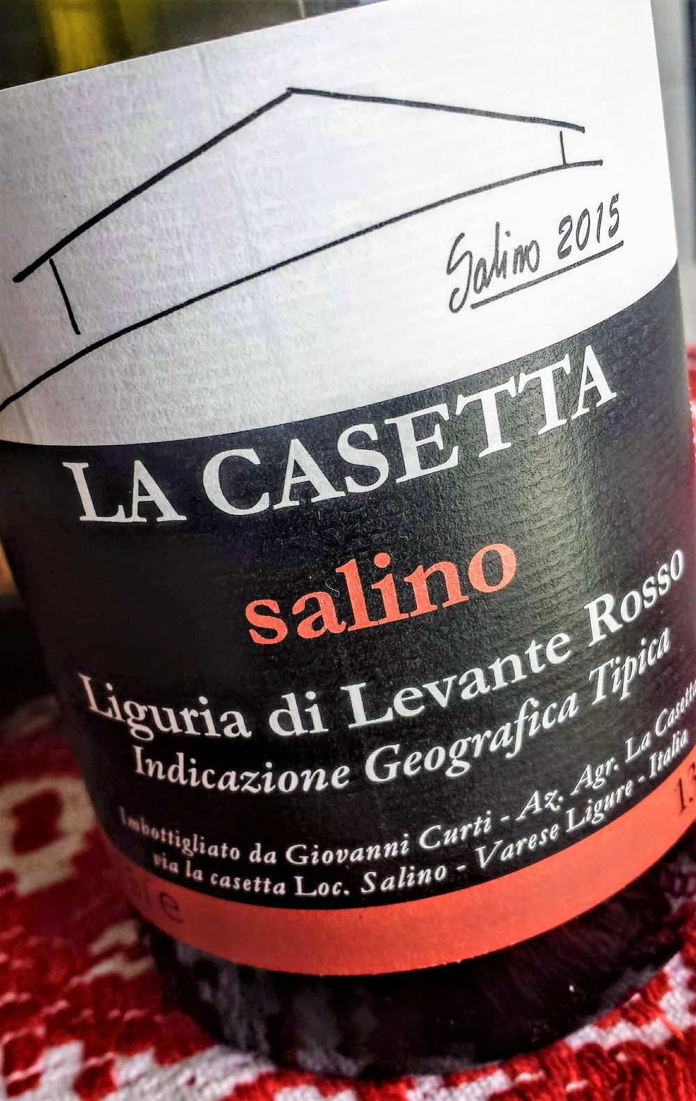 LdL Rosso Salino 2015, La Casetta