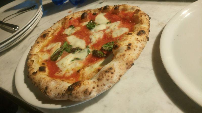 Margherita Vuolo pizza - Firenze caffe' italiano