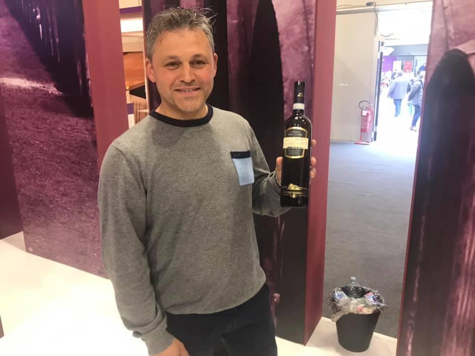 Nicola Mazzella con il Vigna del Lume