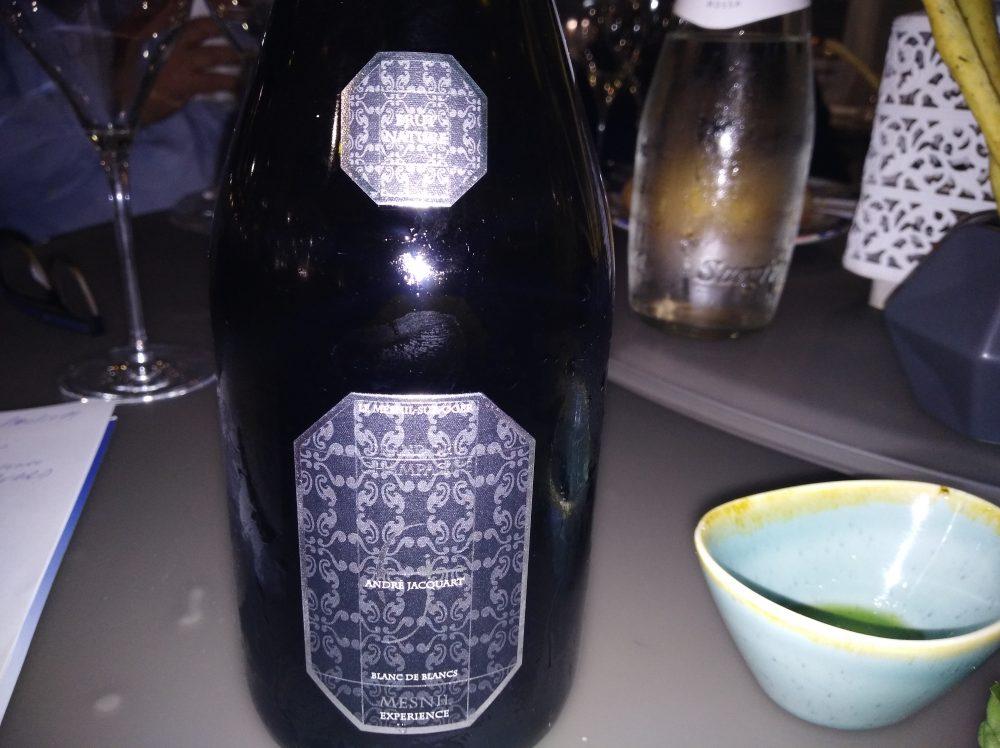 Pappa e Poppa Hostaria Champagne Blanc de Blancs Andre' Jacquart