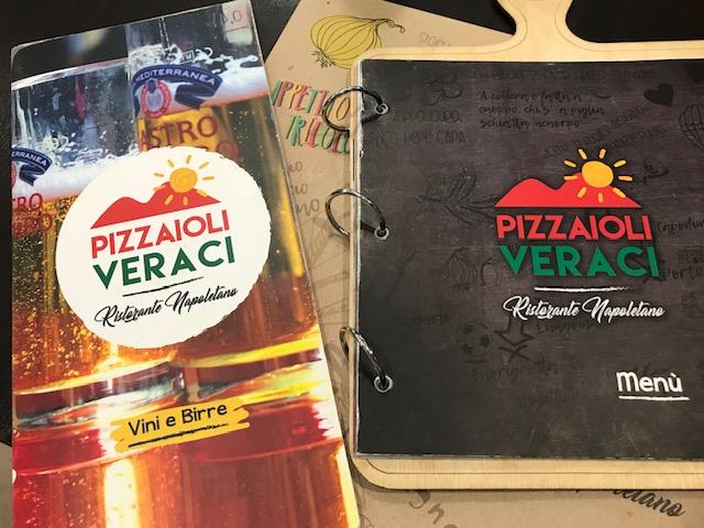 Pizzaioli Veraci - Menu'
