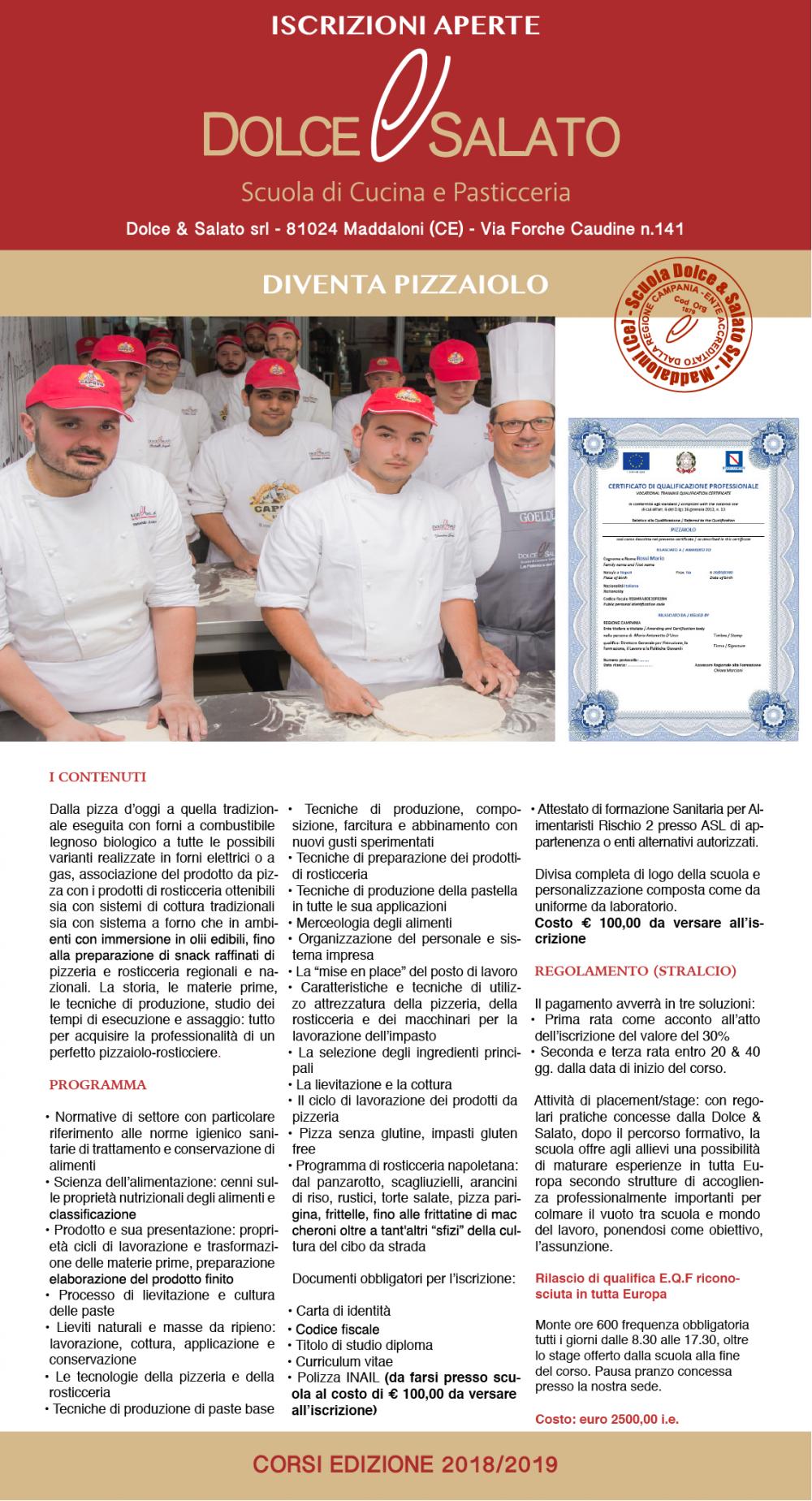 Dolce & Salato - Pizzaiolo
