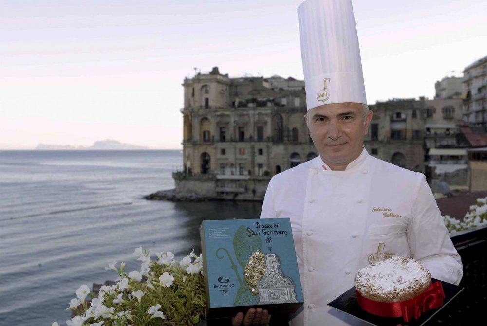 Salvatore Gabbiano - vincitore della prima edizione del concorso San Genna'...un dolce per San Gennaro