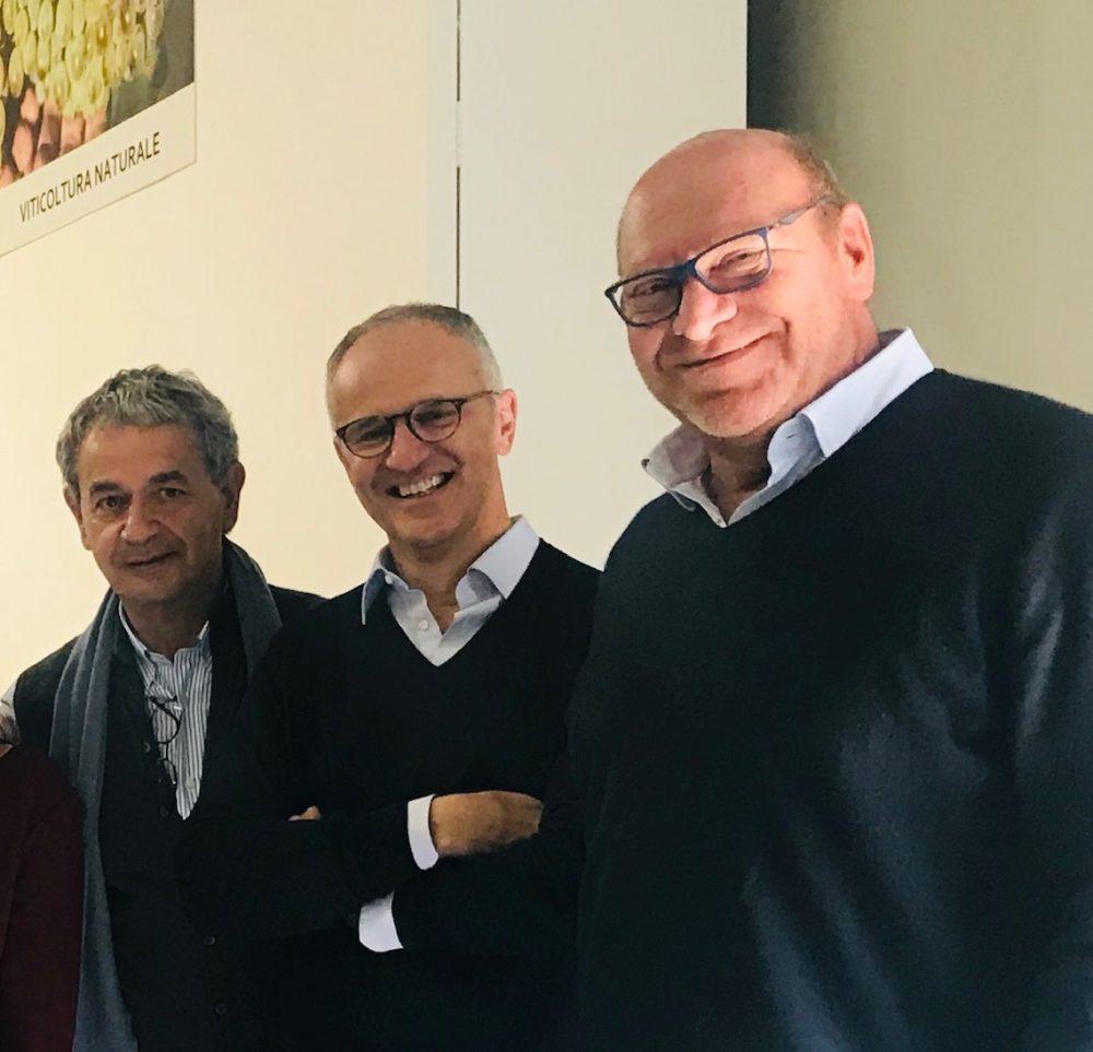 Sergio, Riccardo e Massimo