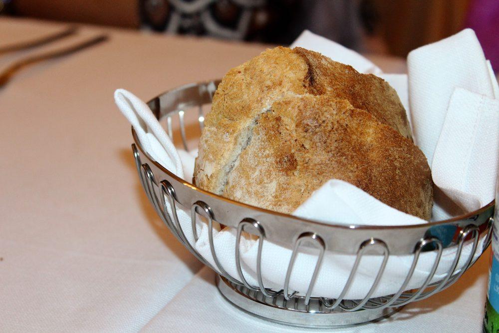 Irina Trattoria – il pane prodotto nel locale