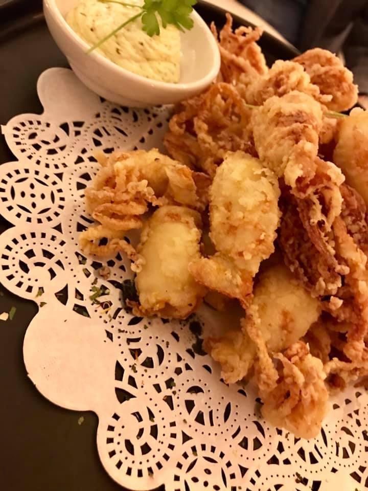 San Pietro Bistrot del mare. Totanetti fritti