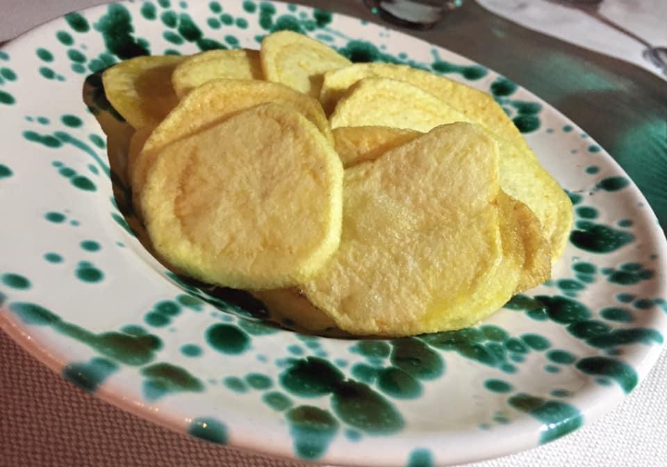 Villa Rosa di Nonna Rosa, le patate fritte