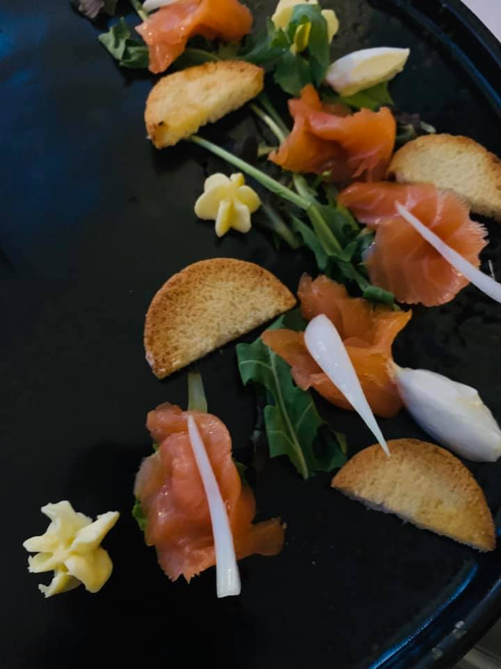 San Pietro Bistrot - Salmone selvaggio e yogurt