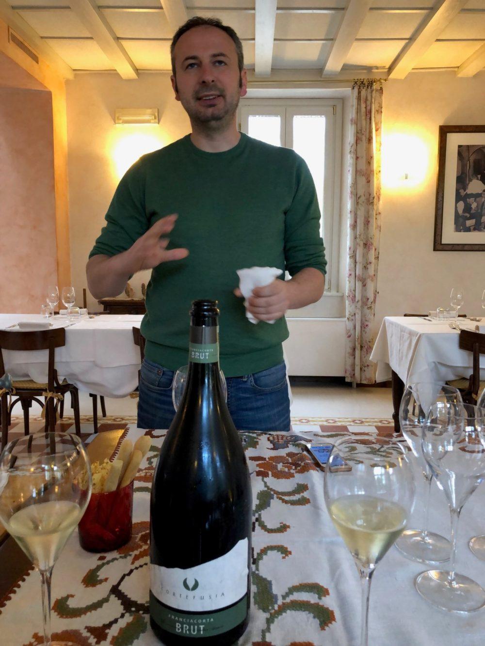 Gigi Nembrini il produttore di Cortefusia a Coccaglio