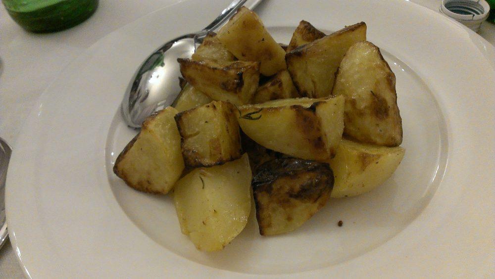 Irina Trattoria – contorno con patate