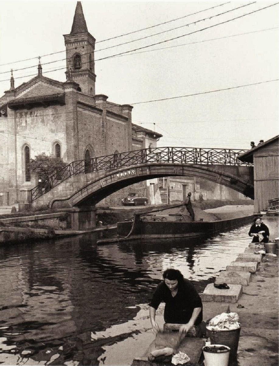 Milano, San Cristoforo, primi anni 50