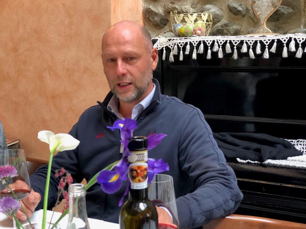 Manuel Biava, il produttore del Moscato di Scanzo
