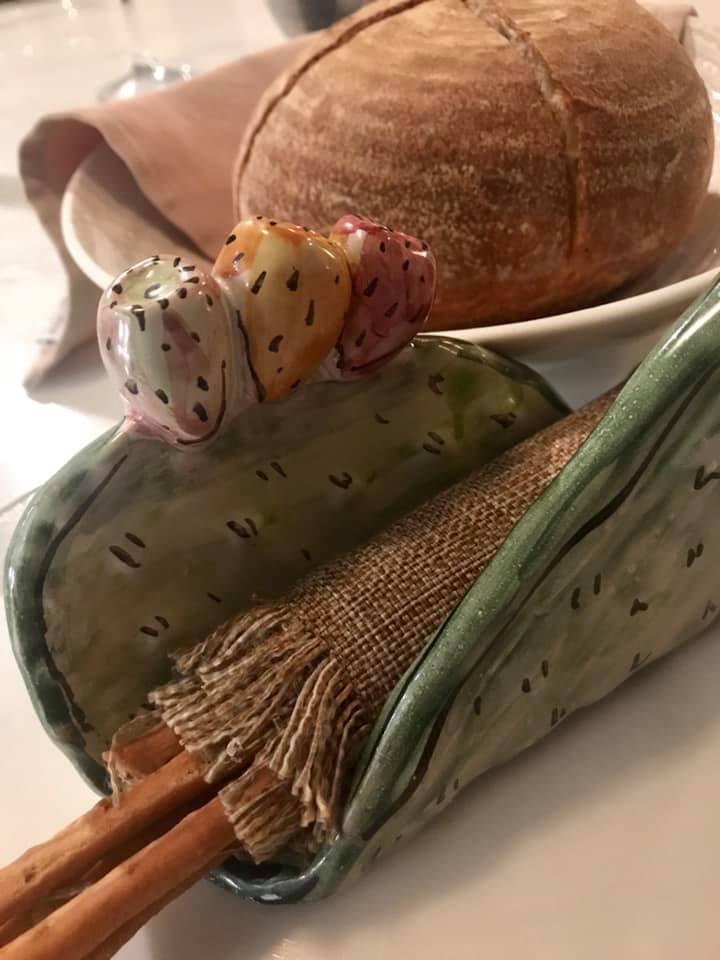 Il Cappero di Giuseppe Biuso, pane e grissini